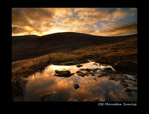 Mountain Sunrise by markey075