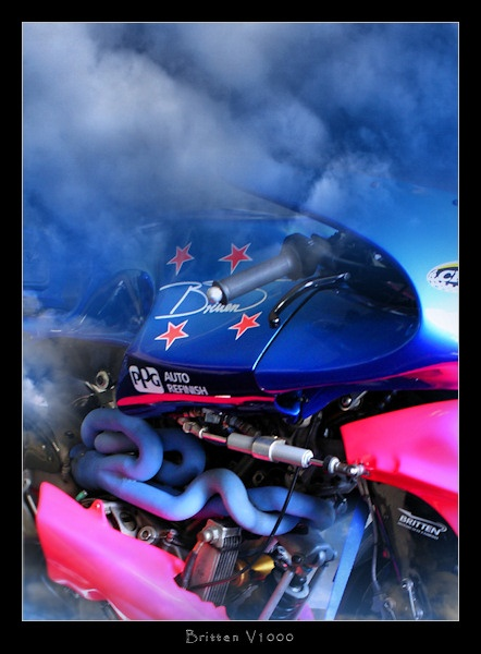 Britten V1000 - New Zealand\'s Most Successful Racing Motorcycle by SteveNZ