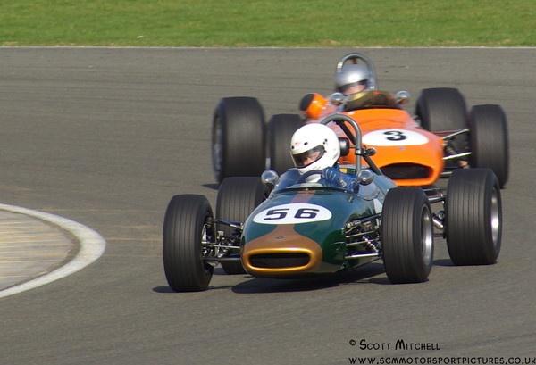 Brabham BT16 - HSCC 28.3.10 by motorsportpictures