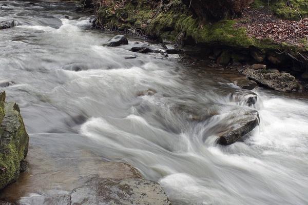 Swollen River by RobbieWales