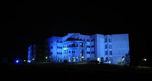 Blue Building by nonur