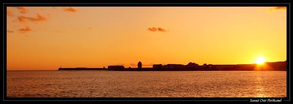 Sunset Over Porthcawl by jjmorgan36