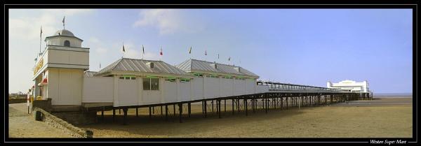 Weston Super Mare Pier by jjmorgan36