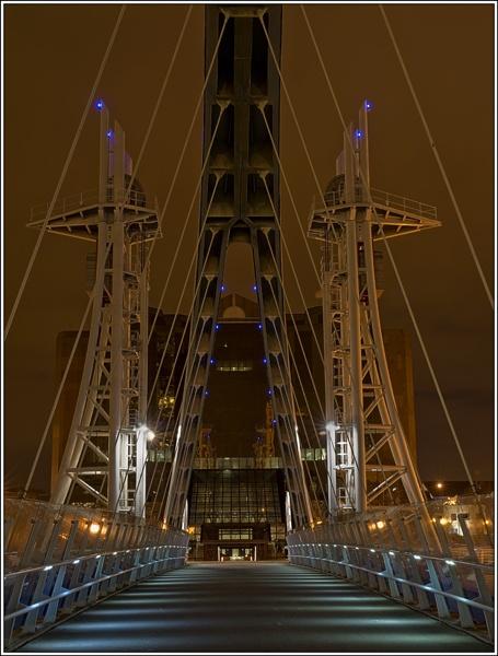 Millenium Bridge at Salford. by david357