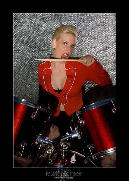 Drummergirl by mattharper