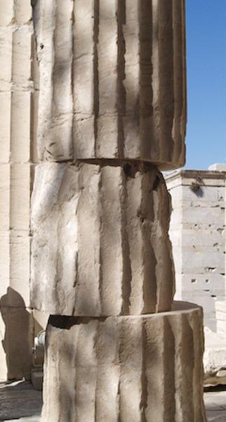Nudge Nudge (Acropolis, Athens) by Gilbrae