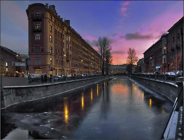 Violet City Sunset by IgorDrankin