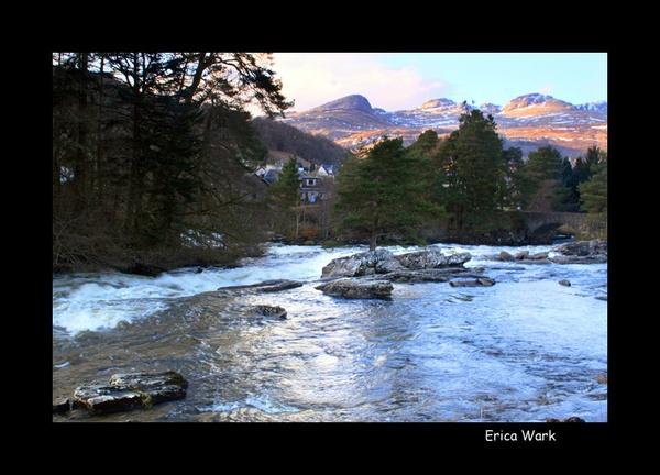 Falls of Dochart by Ewark