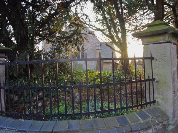 church railings by magicman