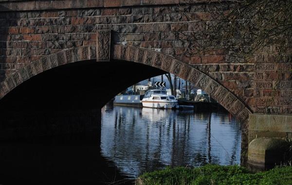 through the bridge by magicman