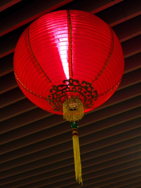 one chineses new year lantern taken in  boon lay singapore by StevenBest