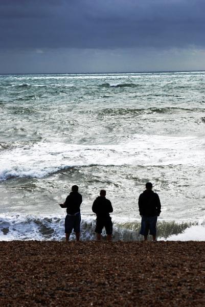 Brighton beach storm by StevenBest