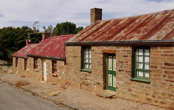 Old Houses by bigredtim