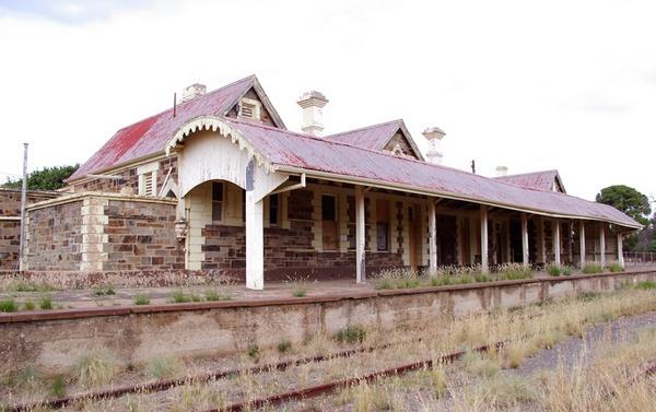 Dis-used railway Station. by bigredtim