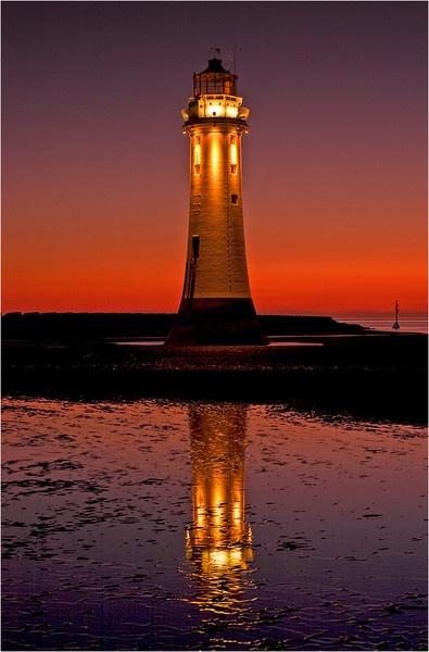 New Brighton Sunset 01 by Anthony