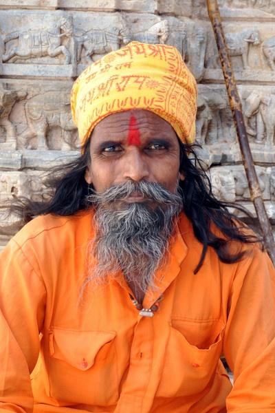 Hindu Portrait by nikon_stu