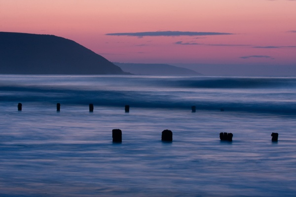 Dawn on Youghal Beach. by obriendavy
