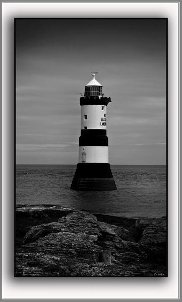 Penmon Lighthouse by Mynett