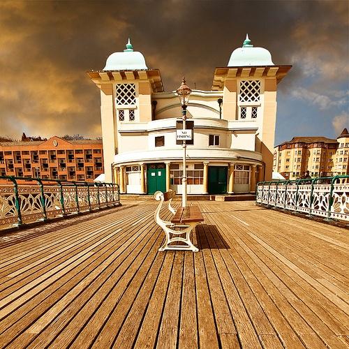 On the Pier by Fluke