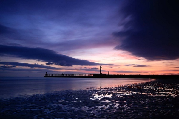 Whitby West Pier by cocky936