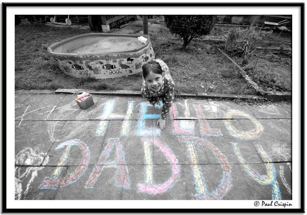 Hello Daddy by ducatirider