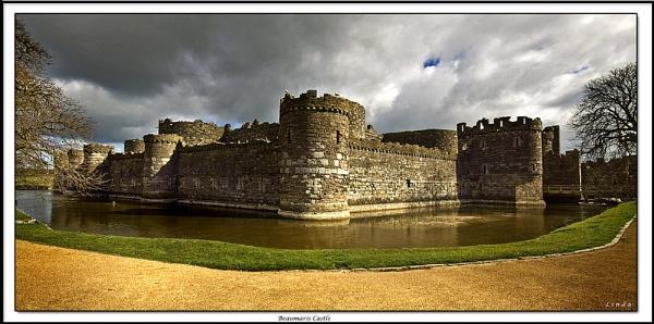 Beaumaris Castle by Mynett