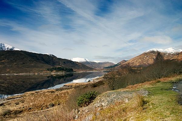 highland scene by geosami