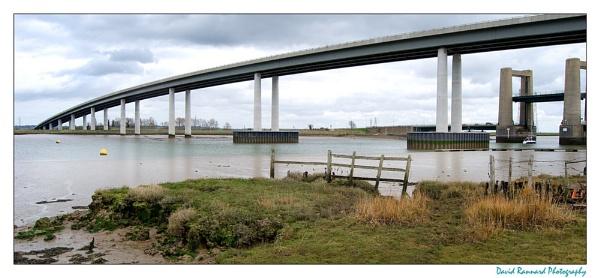 Sheppey Bridge by SugarDJ