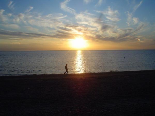 Snettisham Sunset by 213hardy