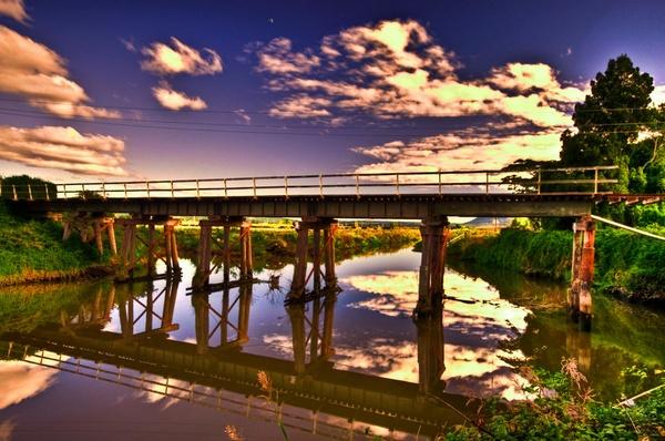 Old Rail Bridge by nostramo