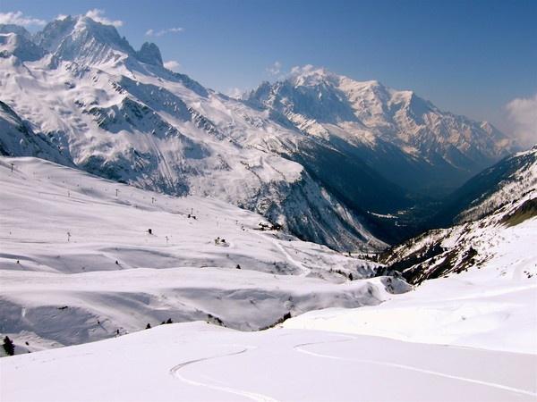 Chamonix Valley 2-French Alps by PaulLiley