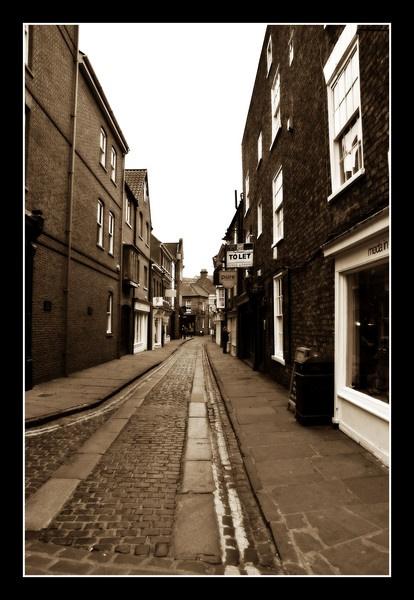 A Street In York by EG