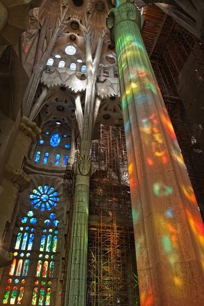 Sagrada Familia\'s colourit by OVrtnarHigi