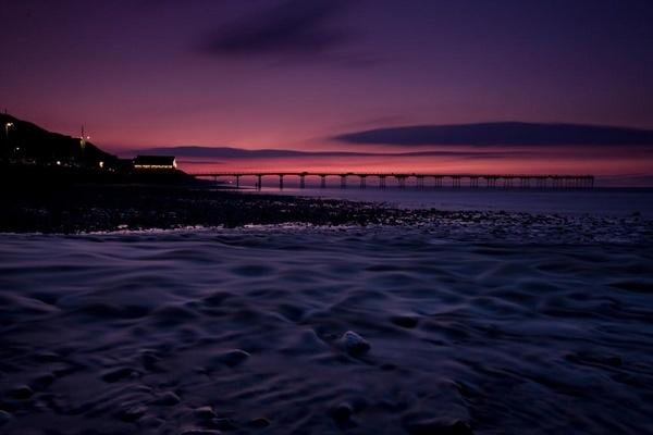 Saltburn Sunset by IanBurton