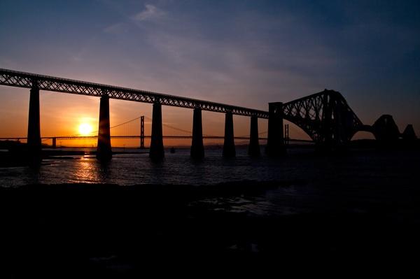 Bridges Volcanic Sunset by scotjames