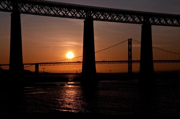 Bridges Volcanic Sunset II by scotjames