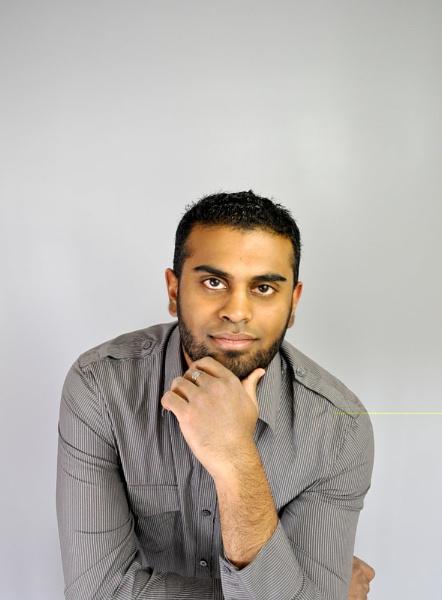 Front on man pose by Bluebiriyani