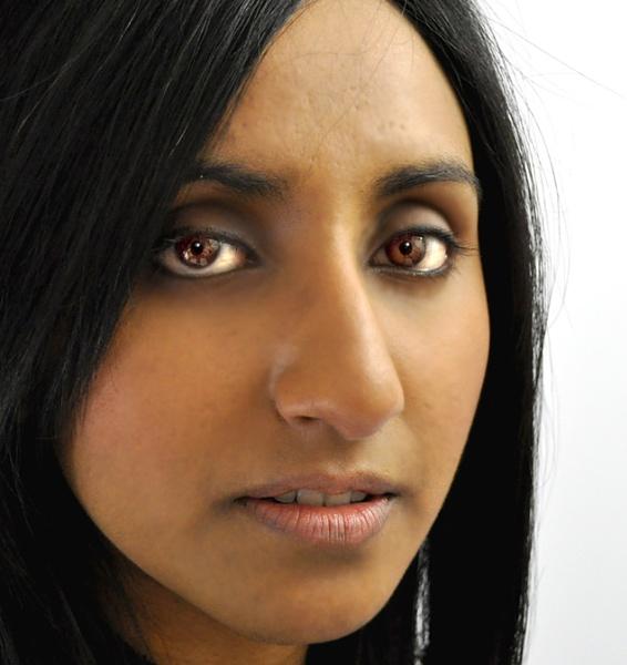 Close up Face portrait /tight crop by Bluebiriyani