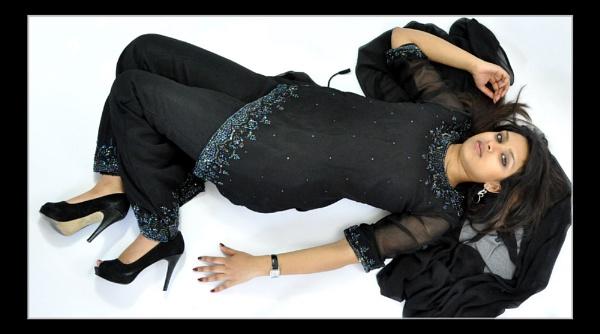 Fashion pose by Bluebiriyani