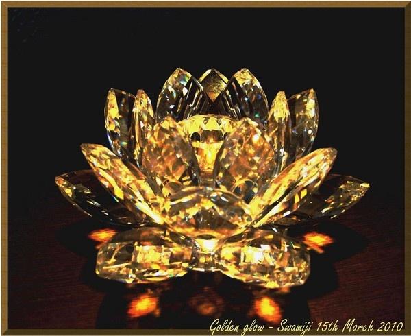 Golden glow by Swamiji