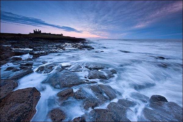 Dunstanburgh Dawn by brm