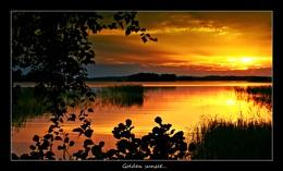 GOLDEN SUNSET...
