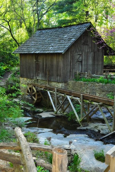 Grist Mill by PeelNStick