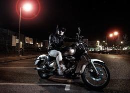 Dusan and his Suzuki 125cc
