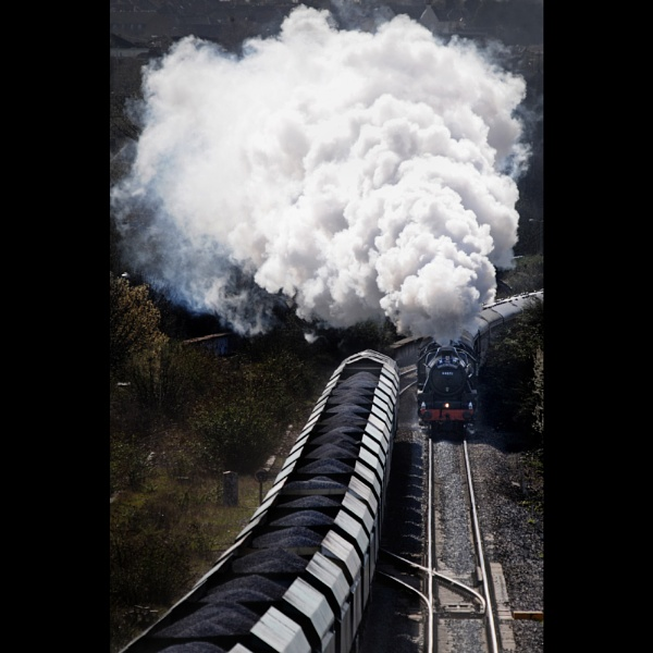 Coal and steam by robincoombes