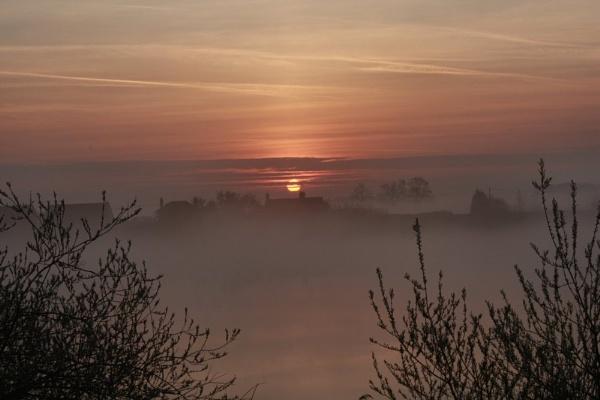 Misty Sunrise by SKETCHER68