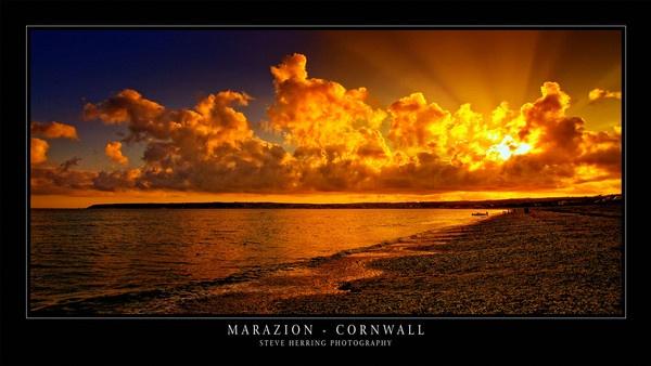 Marazion Sunset. by sherring