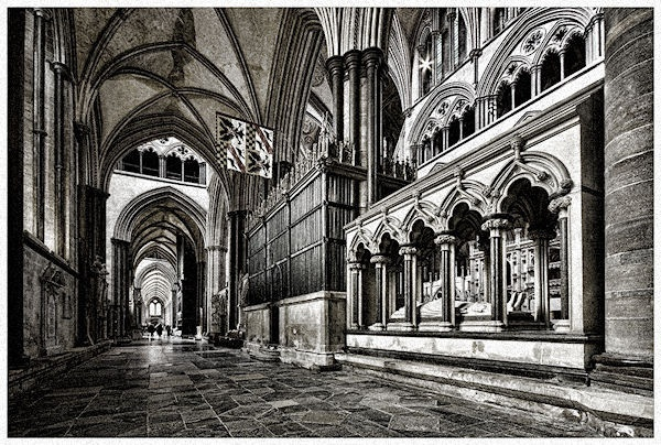 Salisbury cathedral by cassiecat