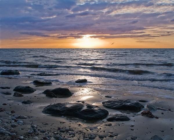 Hunstanton Sunset by monobod