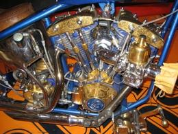 Gold Bike Engine